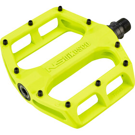 NS Bikes Aerial Pedals sealed, lemon lime